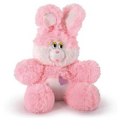 Мягкая игрушка Заяц розовый